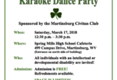 Martinsburg Civitan holds Karaoke Dance Party